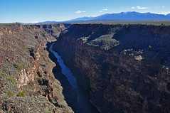 Rio Grande Gorge (James Matuszak) Tags: newmexico river gorge riogrande landscape taos mountains