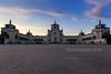 Cimitero Monumentale, Milano (Obliot) Tags: cielo monumentale milano 2017 cimiteromonumentale piazzale aprile selciato ingresso tramonto famedio blue nuvole primavera obliot portanuova lombardia italia it