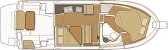 Ranger deck-plan- (Soundings Magazine) Tags: boats pocketcruisers cruisers yachts