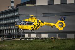 Take off for the first mission this morning. (dr.rol) Tags: hubschrauber luftfahrt rettungsdienst saarbrücken