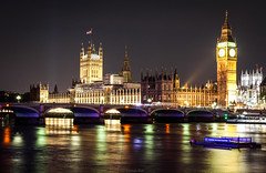 Glorious London @ night (Yannis Raf) Tags: canon canoneos70d canoneos ef24105mmf4lisusm ef24105mmf4 london longexposure lowlight longexposurephotography slowshutterspeed colours contrast river thames england