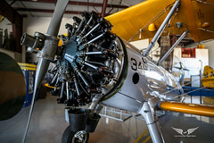 PT-13 Stearman Lycoming R-680 (gc232) Tags: usa florida united states america miami samyang 20mm f18 2018 18 ultra wide angle lens canon 6d