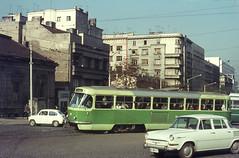 Once upon a time - Yugoslavia (Serbia) - Beograd / Belgrade / Belgrado (railasia) Tags: serbia streetscene prototype belgrade sixties yugoslavia tatra metergauge t4yu routenº10