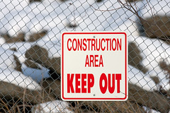 Sign_8722 (Mike Head - Catching up) Tags: canada warning constructionarea bc britishcolumbia richmond westerncanada