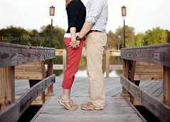 ~15/52~ Neutral (DocUNC) Tags: red portrait lake cute love beautiful headless pier dock couple marriage romance relationship romantic neutral 1552 sperry docunc 2014project52 2014week15