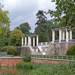 Schlosspark zu Putbus auf Rügen (08) - Treppenaufgang zum ehemaligen Schloss thumbnail
