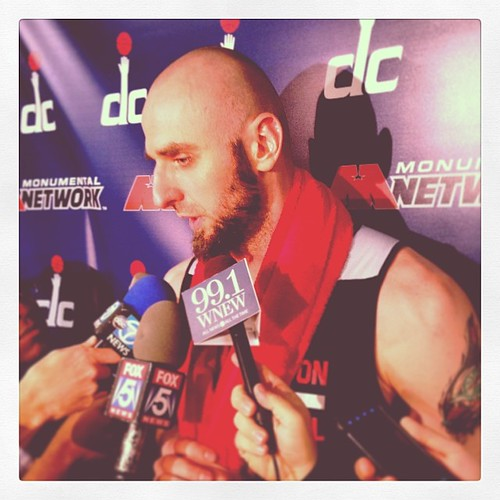 Yesterday's Gortat: Ready for Round 2.