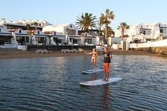 Learn to Stand Up Paddle (Sands Beach Active Lanzarote) Tags: family chris hotel lanzarote resort sup active costateguise sandsbeach lagood mlearn standuppaddle suplanzarote