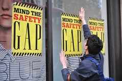 Mind The Safety Gap (Darren Johnson / iDJ Photography) Tags: street plaza uk people signs london sign demo photography corporate photo high nikon war photographer image photos pics political politics protest gap pic images safety want demonstration rights mind passion demonstrations rana protesting protests bangladesh protester protesters centrallondon 2014 kensignton d5000 idjphotography razaplaza
