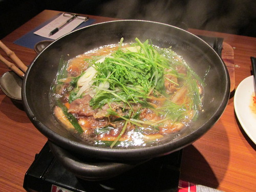 Boeuf et légumes, Tokyo, Japon
