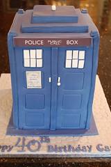 Tardis Cake (Victorious_Sponge) Tags: birthday blue cake call box who dr police tardis