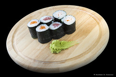 Sushi (Giordano Di Dionisio) Tags: park food fish macro topv2222 sushi japanese restaurant avocado rice cucumber nj chopsticks lincoln roll eel kims