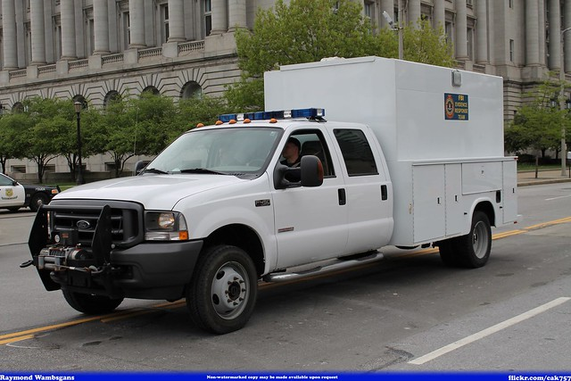 ford team memorial peace bureau cleveland police parade evidence federal fbi response investigation officers 2014 f450
