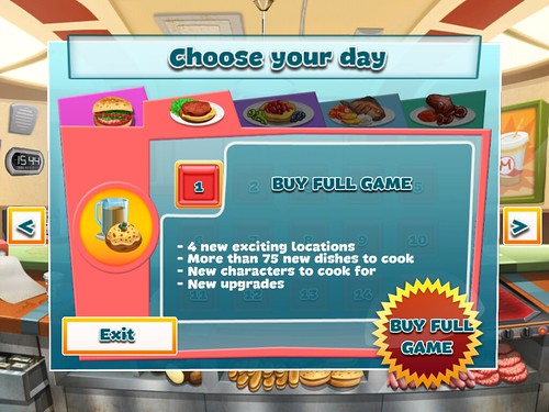 Happy Chef Game Unlock: screenshots, UI