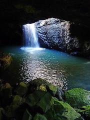 Springbrook Waterfall (brentflynn76) Tags: light shadow water photo waterfall nationalpark rocks australia falls queensland waterscape goldcoast springbrook