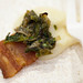 """Two Restaurant and Bar - Homemade bacon, parsnip puree, tart cherry, crispy kale - Baconfest 2014.jpg • <a style=""""font-size:0.8em;"""" href=""""http://www.flickr.com/photos/124225217@N03/14043734476/"""" target=""""_blank"""">View on Flickr</a>"""