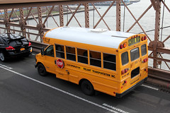 Brooklyn Bridge (Anneliez) Tags: nyc bridge newyork brooklyn brooklynbridge schoolbus