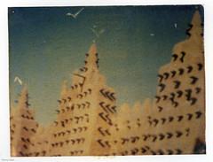 Djenne Fuji Transfer (BunnySafari) Tags: polaroid vivid mosque westafrica mali djenne daylab fpp fujiinstant bunnysafari traveladventures fujitransfer arches88paper roidweek2014