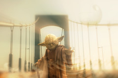Yoda On The Throgs Neck Bridge: Robert Bogdany (Facebook\Artist: Bobby Boggs.) Tags: park bridge boy robert photoshop neck bay search flickr artist yoda bronx jesus ironman superman retro adobe list 80s hero batman 70s bible bobby morris thor deviantart worth1000 edgewater pelham facebook on the boggs nephilim throgs bogdany