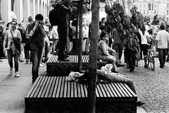 f36 (artbrn) Tags: street film me analog photography 50mm photo pentax kodak guitar trix streetphotography poland polska super 400 record 1000 wroclaw flim mesuper wro acufine