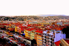 View from Castle, Nice, France