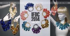IFDC 2014 TABLE GIFTS (Culte De Paris) Tags: jason paris tower scale fashion de toys miniature julia jewelry eiffel gifts statement handcrafted 16 wu fr leroy royalty parisian necklaces