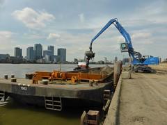 Greenwich Peninsula (unravelled) Tags: canarywharf victoriadeepwaterterminal greewichpeninsula