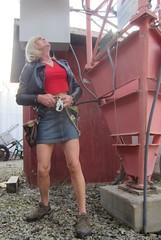 Spring Climb (MarcieGurl) Tags: spring crossdressing tgirl tranny crossdresser gurl 2014 gupr marciegurl