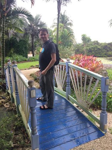 Botanic gardens to see blue iguanas!