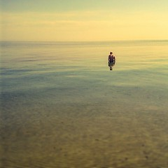 Hombre en soledad (L Marx) Tags: square mar playa nostalgia squareformat soledad denia tonos iphoneography instagramapp uploaded:by=instagram