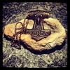 Schonenhammer (alekevilhelmsdottir) Tags: hammer bronze necklace thor vikings viking schmuck scania kette thorshammer mjölnir wikinger asatru asen vanen schonenhammer mjoelnir