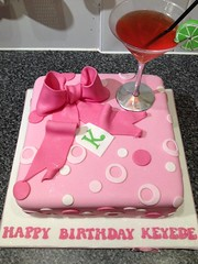 Cosmopolitan Cake