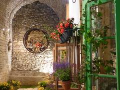 Windows and Flowers (b16dyr) Tags: windows spain girona floralart tempsdeflors tempsdeflors2014