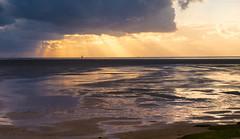North Sea Sunset (PHOTOPHOB) Tags: sunset sea clouds rural landscape lumix nationalpark wadden sonnenuntergang cloudy salt wolken panasonic flats northsea marsh g6 landschaft nordsee mudflats tidal dmc mudflat wattenmeer waddensea westerhever nordfriesland koog watternmeer photophob tmlauer tmlauerbucht dmcg6