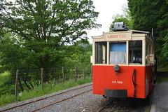 L'autorail des grottes de Han. (Azariel01) Tags: belgium belgique belgie diesel tracks tram rail han hansurlesse wallonie 2014 autorail gazoil