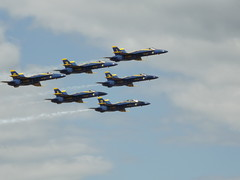 Blue Angels (Joe_W_Turner) Tags: show blue aircraft air angels