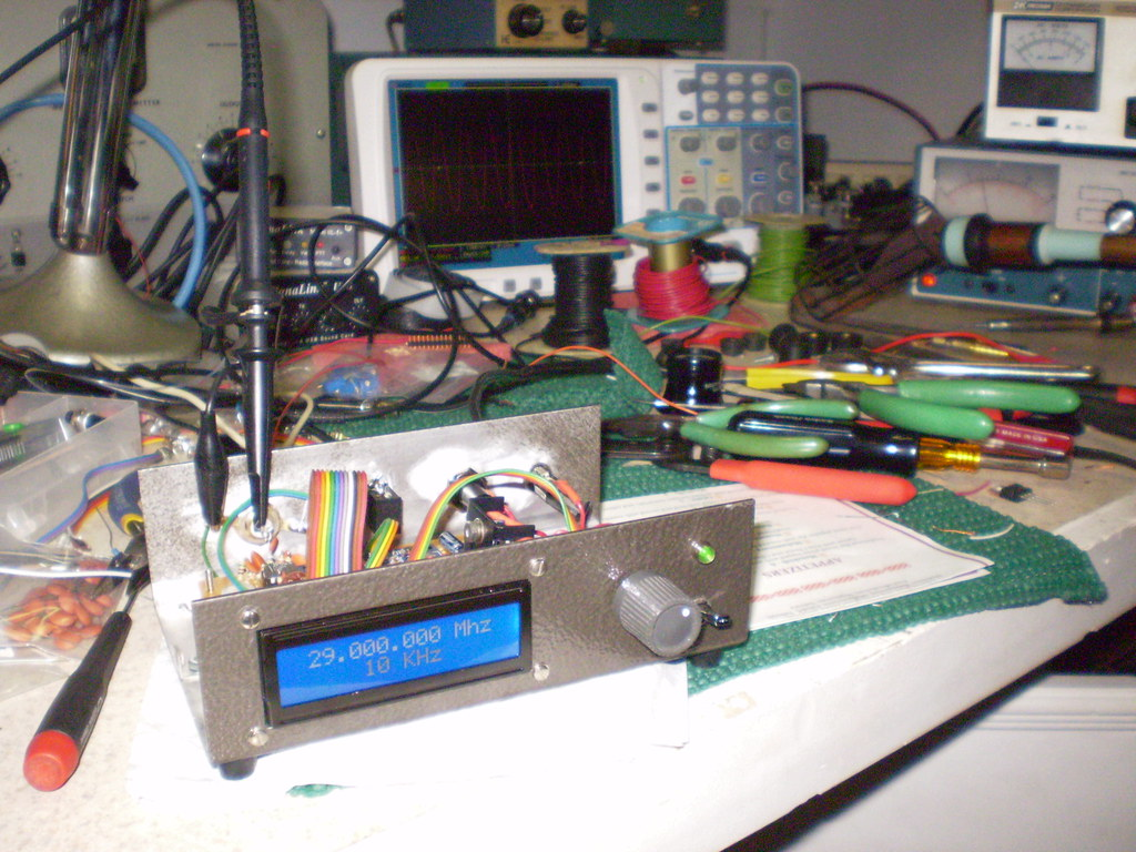 The World's most recently posted photos of ad9850 and arduino