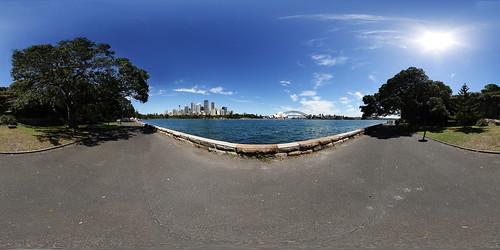 Sydney - Royal Botanic Garden - Panorama