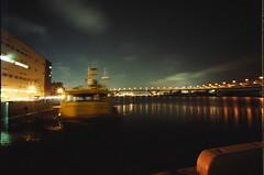 Maya wharf - Kobe (miho's dad) Tags: kobe bessal superwideheliar4515 kodakprofotoxl100