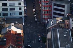 Frankfurt aus der Vogelperspektive (Florian von Wey-Lbeck) Tags: urban skyline frankfurt highrise hochhaus mainhattan vogelperspektive hochhuser sadt
