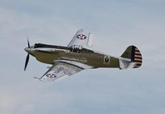 Curtiss P-40C Tomahawk N80FR (R.K.C. Photography) Tags: uk aircraft airshow duxford warbirds cambridgeshire airfield curtiss tomahawk iwm flyinglegends p40c canoneos1100d n80fr