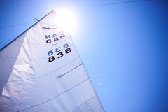 Sailing (Sangy23) Tags: summer sky sun canada water canon sailing wind mark ii sail 5d