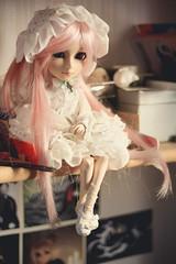 Mian lolita <3 (mymuffin_15) Tags: pink cute dal william lolita loli pullip custom damian mian isul taeyang