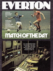 Everton vs Liverpool - 1975 - Cover Page (The Sky Strikers) Tags: liverpool day cameras match derby merseyside everton