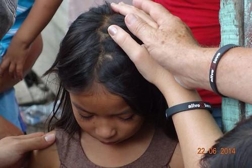 Child in Honduras Prayed For
