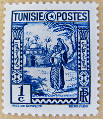 beautiful stamp France/Tunesia 1c (woman with pitcher, Frau mit Wasserkrug) Republique Tunisienne Tunísia selo sellos Túnez Briefmarke Tunesien poste timbre Tunisie postage 1c francobolli Tunisia bollo franco porto تونس رسوم البريد طوابع 邮票 突尼斯 yóupiào Tū (stampolina, thx for sending stamps! :)) Tags: blue azul postes blauw tunisia blu stamps stamp porto blau timbre azzurro ブルー niebieski mavi postage franco tunisie biru bleue túnez selo tunesien bolli blå sello asul sininen blou briefmarken markas pulu синий 蓝色 أزرق 邮票 μπλε tunus plava kék frimærker כחול francobolli bollo голубой 兰色 blár 切手 pullar zils timbresposte 우표 znaczki mėlynas tunisienne modrý 푸른 frimaerke тунис timbru azzur नीला สีน้ำเงิน плава màuxanh почтоваямарка γραμματόσημα postapulu yóupiào postetimbre ค่าไปรษณีย์ bélyegek postaücreti صفاقس tūnísī