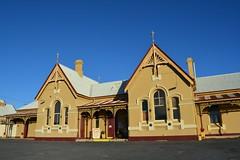 Tenterfield Railway Station [1886] (dustaway) Tags: museum buildings earlymorning australia railwaystation nsw tenterfield northerntablelands historicstructures tenterfieldrailwaystationmuseum tenterfielddistrict