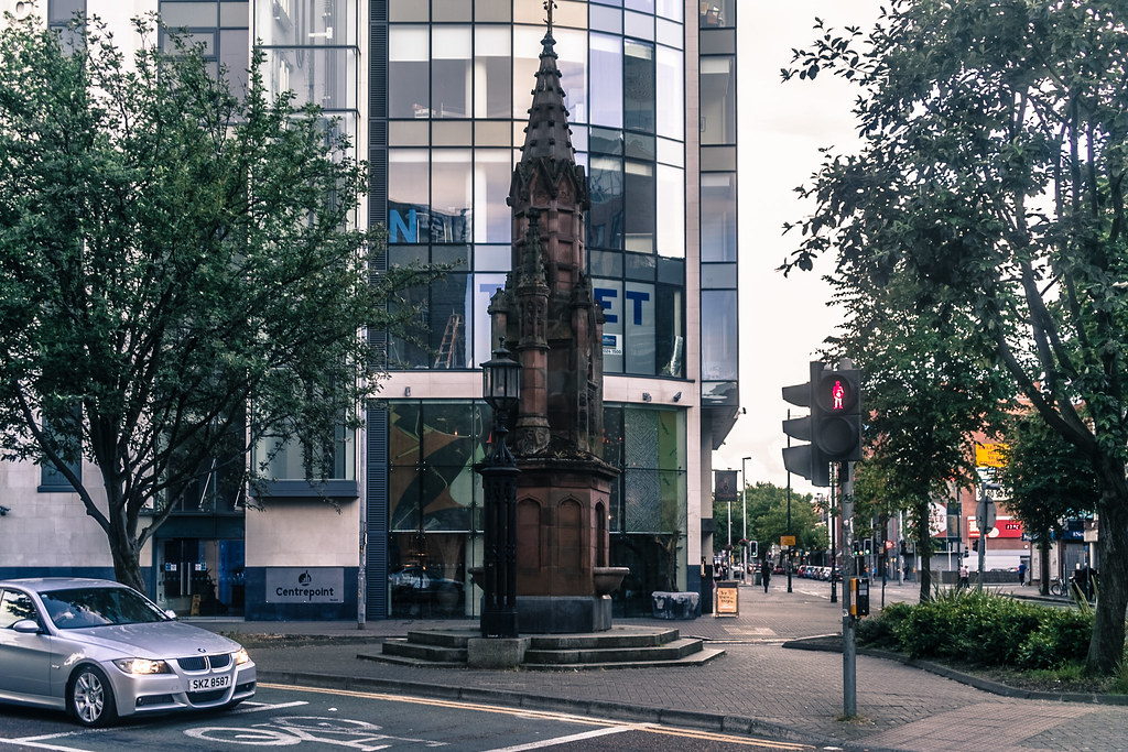 The Thomas Thompson Memorial Fountain - Bedford Street In Belfast