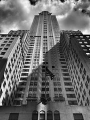 IMG_7699 (soho/prince) Tags: nyc bw buildings streetshots lookingup chryslerbuilding