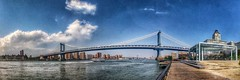 (GadgetAndrew) Tags: nyc panorama brooklyn manhattanbridge brooklynny brooklynbridgepark brooklynusa uploaded:by=flickrmobile flickriosapp:filter=nofilter
